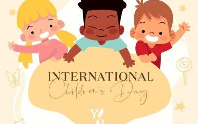 1 juni INTERNATIONALE KINDERDAG